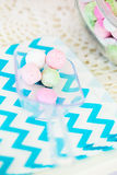 Tarro del caramelo Foto de archivo