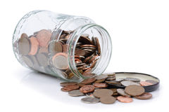 Tarro del dinero Imagenes de archivo