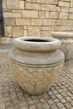 Tarro en el estilo romano Foto de archivo libre de regalías