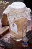 Tarro para la decoración casera Foto de archivo