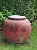 Tarros de cerámica Imagen de archivo libre de regalías