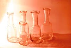 Tarros de cristal Foto de archivo