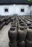 TARROS DE LA ARCILLA EN CHINA Fotografía de archivo