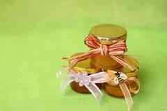 Tarros de la miel Fotografía de archivo libre de regalías