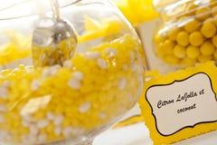 Tarros del caramelo Imagen de archivo libre de regalías