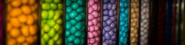 Tarros del caramelo Foto de archivo libre de regalías