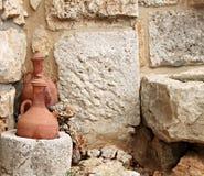 Tarros libaneses tradicionales Imágenes de archivo libres de regalías