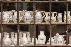 Tarros y floreros Chenonceau francia Imágenes de archivo libres de regalías