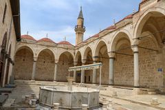 Tarsus / Mersin / Turkey, June 12, 2019, Tarsus historical Ulu cami mosque.  stock image
