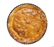 Tart, base in baking dish Stock Photography