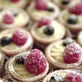 Tart with berries Royalty Free Stock Images