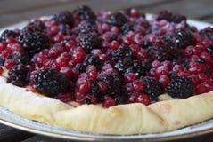 Tart with berries Stock Photos