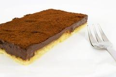 Tart chocolate Royalty Free Stock Images