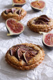 Tart with figs Royalty Free Stock Photo