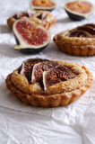 Tart with figs royalty free stock photography