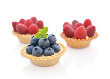 Tart with fresh berry Royalty Free Stock Photos