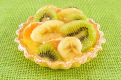 Tart with fresh fruit Royalty Free Stock Photos