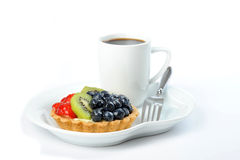 Tart with Fruit Royalty Free Stock Photography
