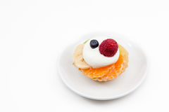 Tart from fruit Royalty Free Stock Images
