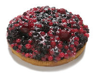 Tart with fruits of the forest Royalty Free Stock Photos