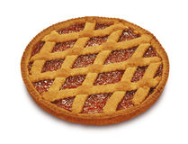Tart with jam Stock Photography