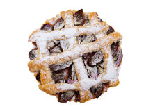 Tart with plums Stock Images