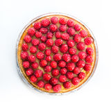 Tart with raspberries Stock Photography