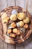 Tart shells and baking tins Royalty Free Stock Photography