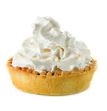 Tart with whipped cream Royalty Free Stock Photo