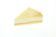 Tart in a white background Royalty Free Stock Image