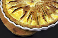 Tart with apple Royalty Free Stock Images
