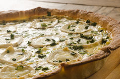 Free Tart With Goat Cheese Royalty Free Stock Image - 70472906