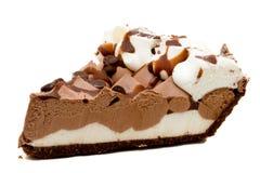 Tarta de crema del chocolate Foto de archivo libre de regalías