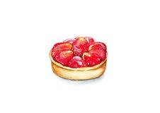 Tarta de la fresa Foto de archivo