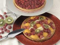 Tarta de la fruta Fotografía de archivo