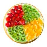 Tarta de la fruta Imagen de archivo