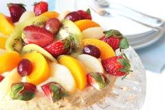 Tarta de la fruta Imagenes de archivo