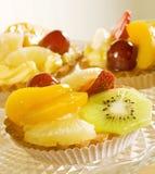 Tarta de la fruta Foto de archivo