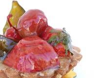 Tarta de la fruta Foto de archivo libre de regalías