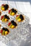 Tarta de la fruta fresca Imagen de archivo