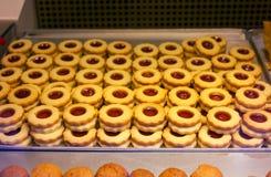 Tarta de la mermelada Imagen de archivo libre de regalías