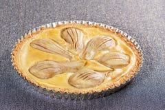 Tarta de la pera Imagen de archivo libre de regalías