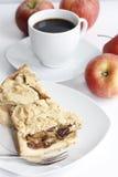 Tarta de manzanas Fotografía de archivo libre de regalías