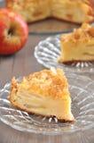 Tarta de manzanas Imagen de archivo libre de regalías