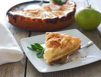 Tarta de manzanas Imagen de archivo
