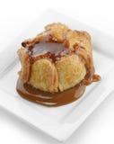 Tarta de manzanas de caramelo Imagen de archivo libre de regalías