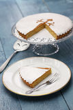 Tarta de santiago, spanish almond cake Stock Photography