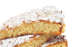 Tarta de Santiago, torta típica da amêndoa de Spain Imagem de Stock