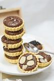 Tarta del chocolate Imágenes de archivo libres de regalías