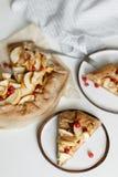 Tarta del galette de la empanada de Apple Fotografía de archivo libre de regalías